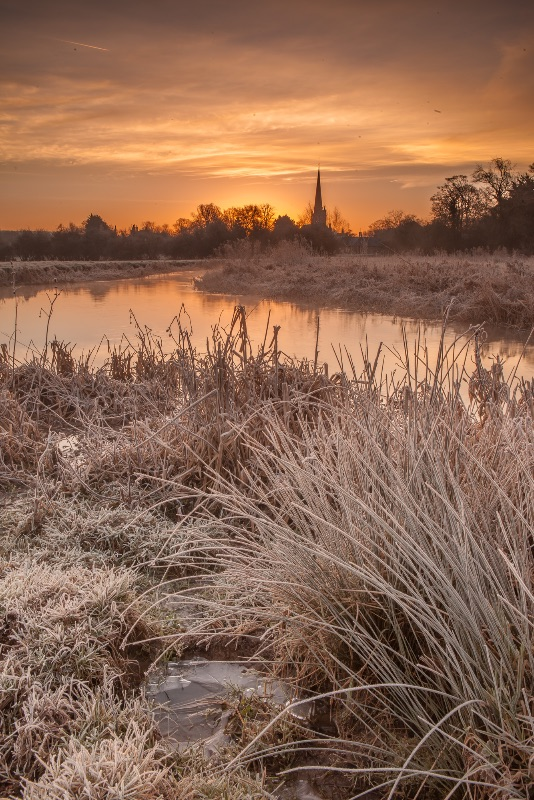 A frosty morning in Burford
