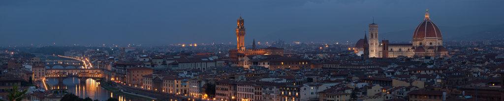 Florence - at night
