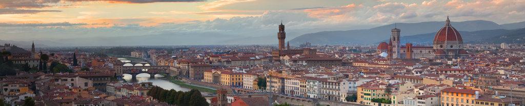 Florence - sunset