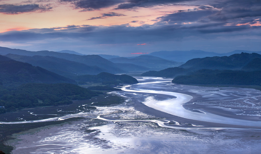 Mawddach Estuary, North Wales
