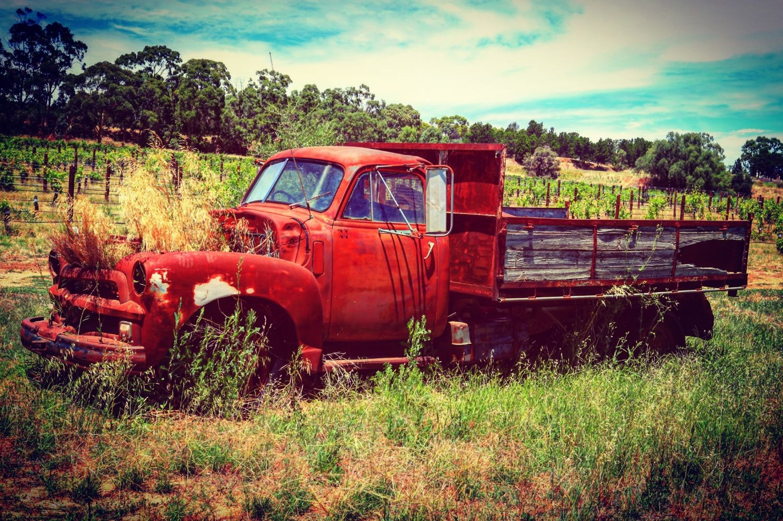 Abandoned Truck Bethany South Australia
