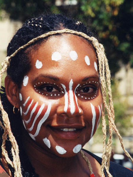 Aboriginal Young Lady