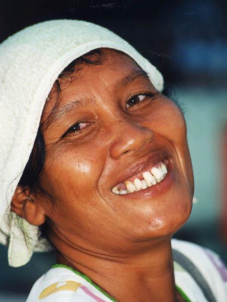 Balinese Fish Seller