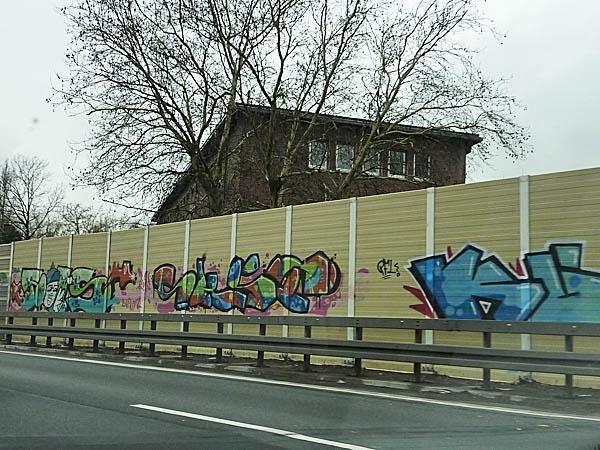 Autobahn Graffiti