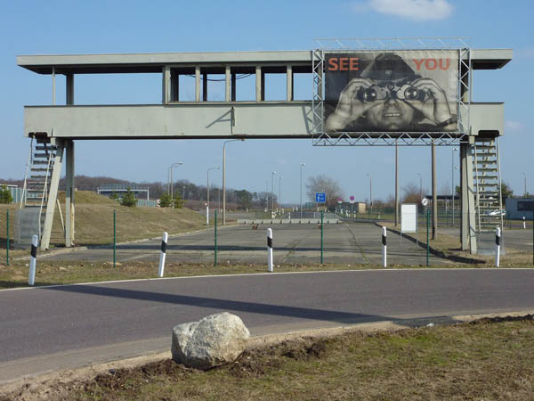 Old East German Border