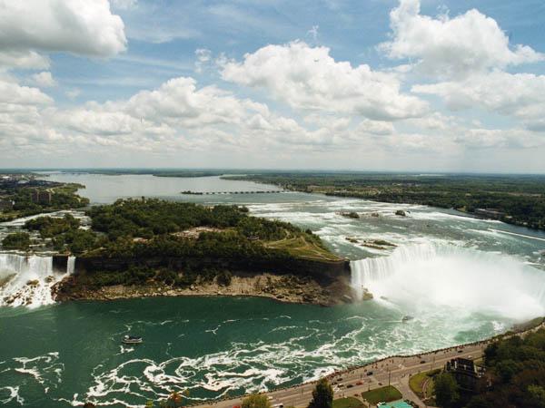 Niagra & American Falls
