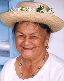 Old Lady Cook Islands