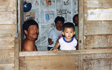 Family in Sarawak