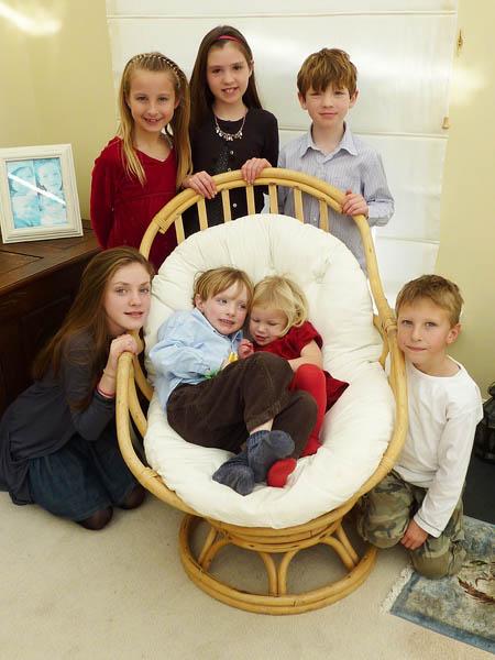 Pud Grandchildren Xmas 2009