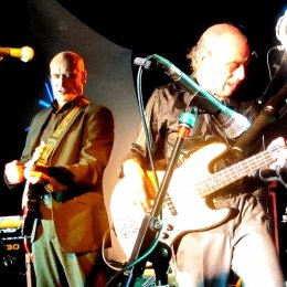 "Wilko Johnson and ""Blockhead"" Norman Watt-Roy"