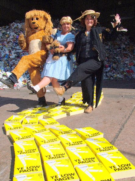 Follow the Yellow Pages road