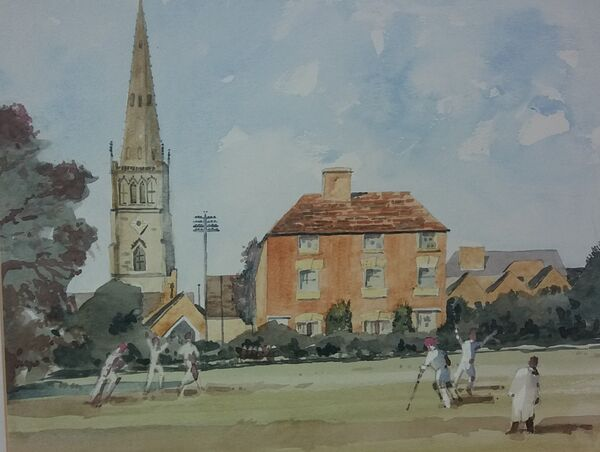 Parkfield Road from Cricket Field