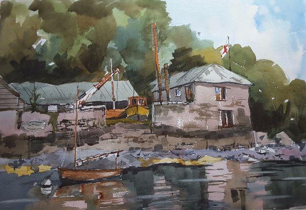 Bodinnick Boatyard - River Fowey