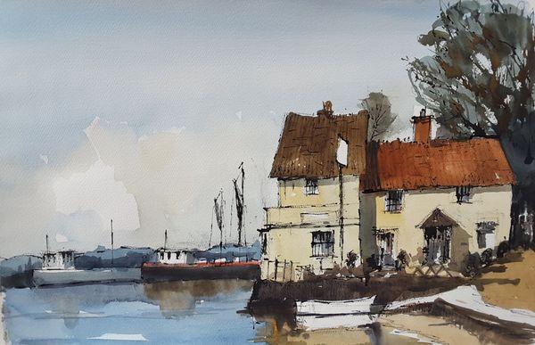 Butt & Oyster Pin Mill