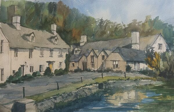 Castle Combe from the bridge