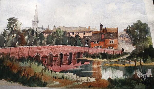 Cole End Bridge c.1890