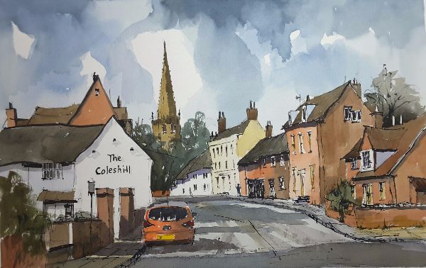 Coleshill looking north - Sold