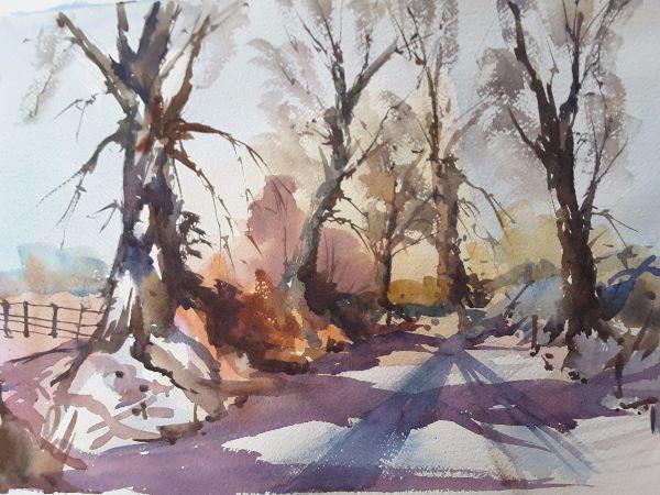 Down the winter lane (2)
