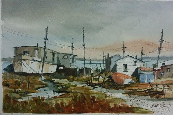 Houseboats West Mersea Essex