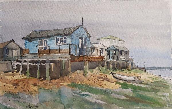 Low tide Felixstowe Ferry
