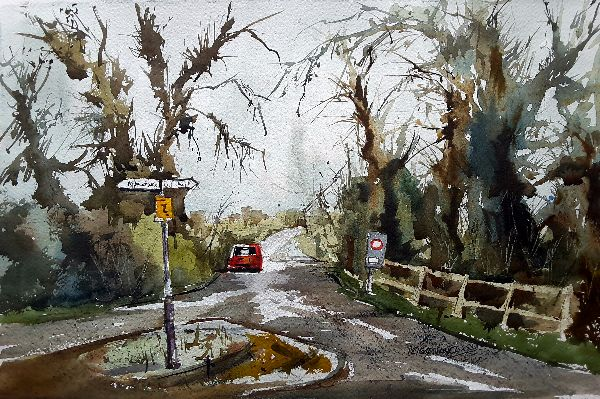Maxstoke Lane meets Arnolds Lane