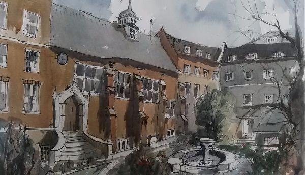 Staple Inn Hall London