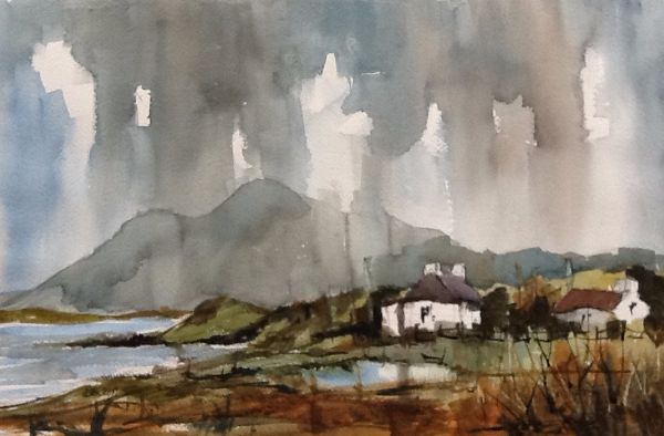 Toward the Pins Connemara from Renvyle
