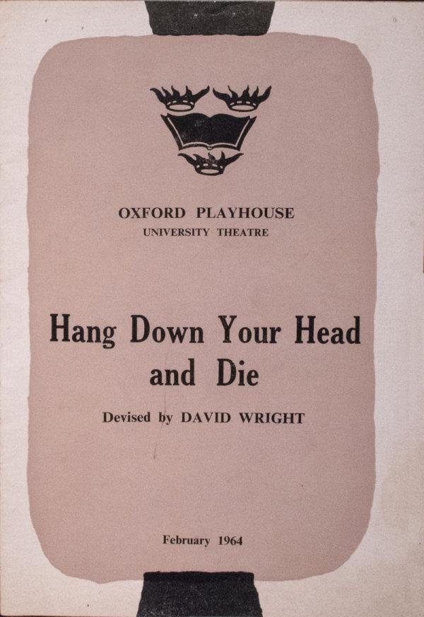 Oxford Playhouse programme