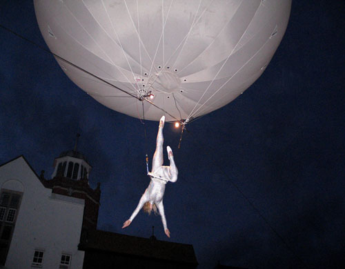 Heliosphere at the Lyme Regis Fossil Festival 2006