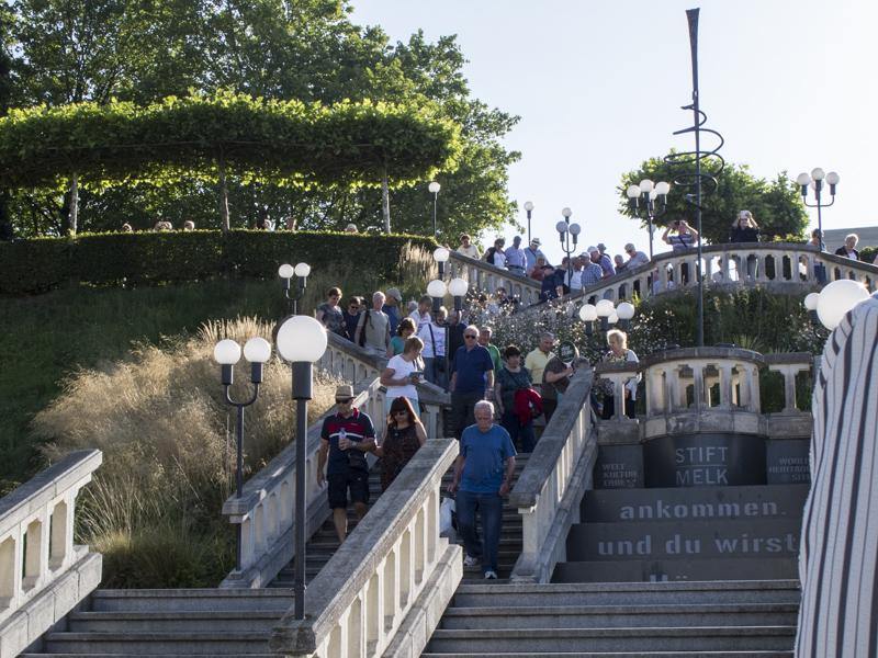 Melk Abbey gardens 0150