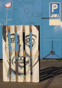 Pallet Portrait 6062