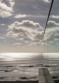 Sea Front Reflections 6557