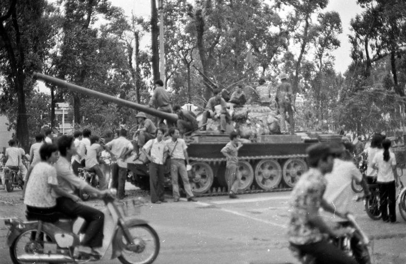 NVA Tank by the presidential palace