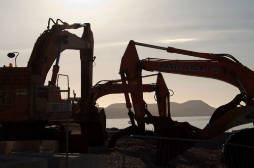 Jurassic diggers Lyme Regis
