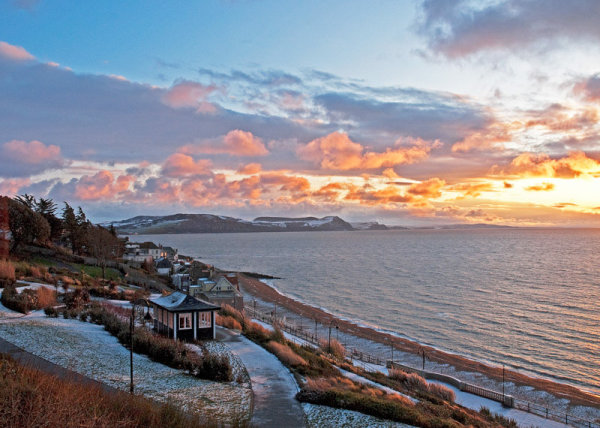 Lyme Regis - Snowy Morning
