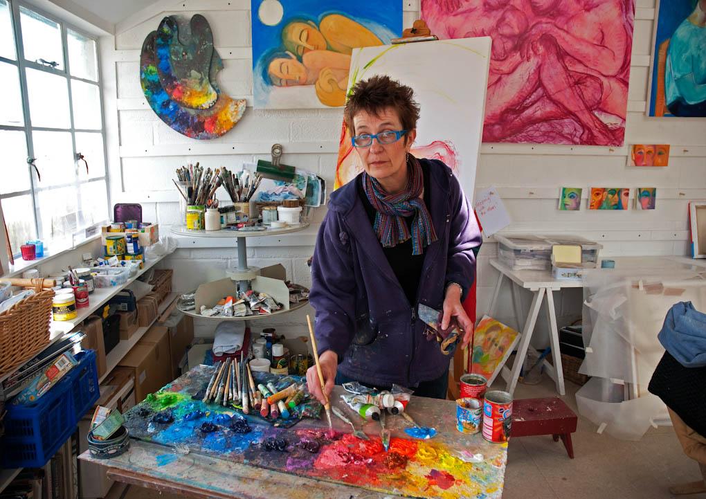 PW9 8942Christine's studio