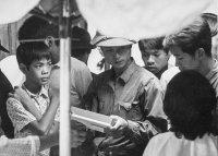 NVA soldier in Saigon market