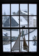 Snowy Day in Lyme Regis