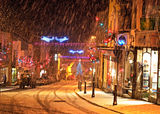 Broad Street in the Snow