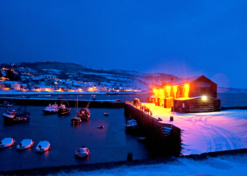Wiles-Harbour&town in snow0457ADP