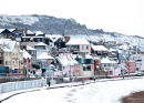 Town in the Snow