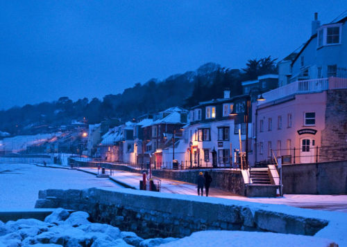 Marine Parade in the Snow