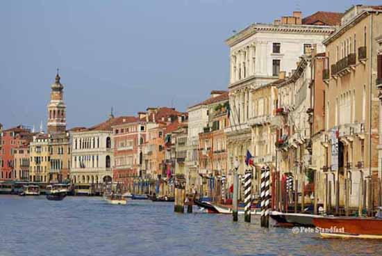 Palaces along the Canal Grande, Venice