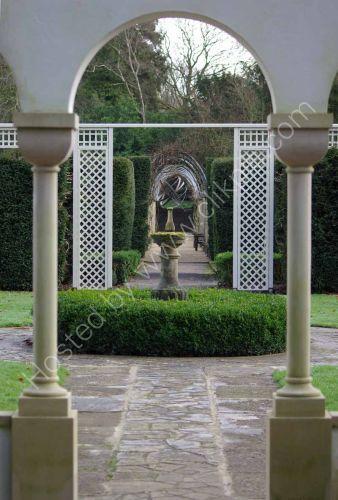 Lavendar Court garden, Dyffryn Gardens, near Cardiff