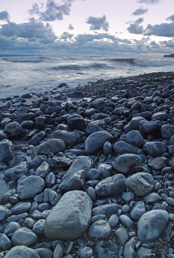 Llantwit Major seashore at dusk III