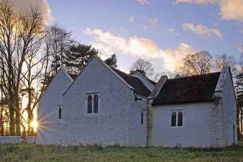 St. Teilo's church, Museum of Welsh Life, St. Fagans, Cardiff