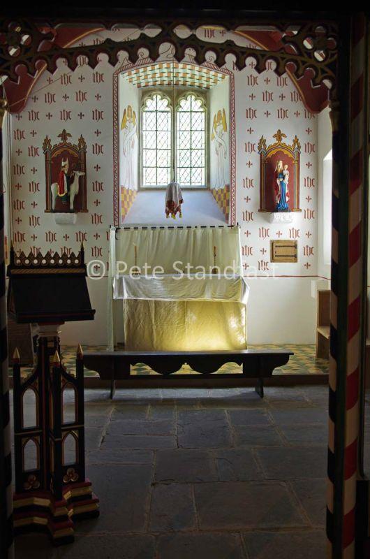 The Altar, St. Teilo's church, St. Fagans