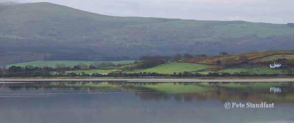 View across the Dwyryd Estuary, Gwynedd, north Wales.