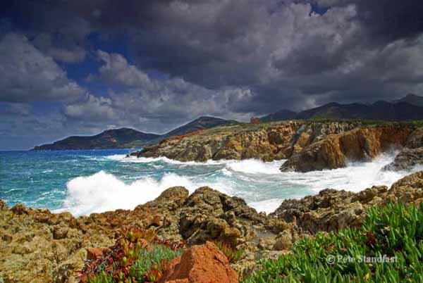 After a storm, Corsica.