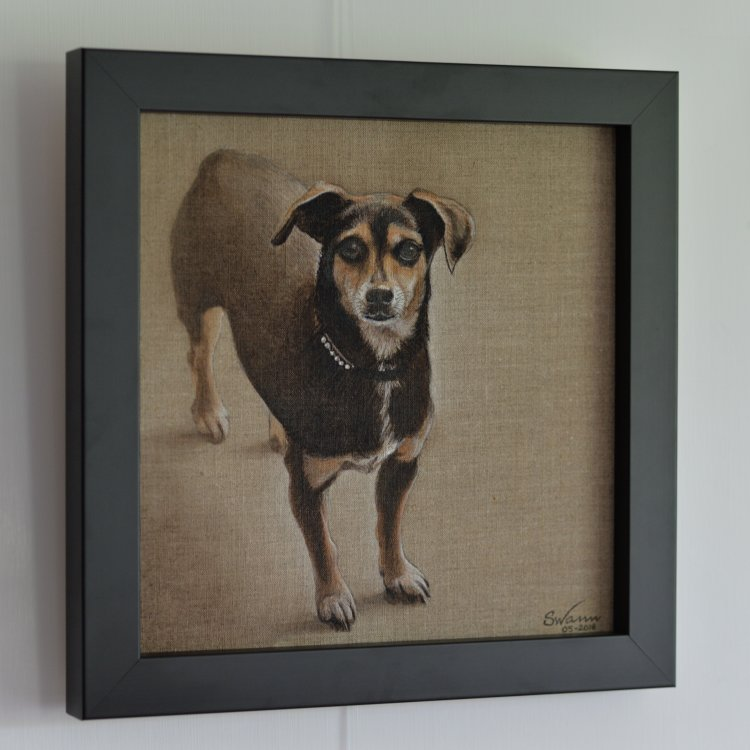 Dixie (framed)